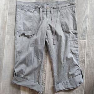 Twenty One Capri/Ankle Pant grey